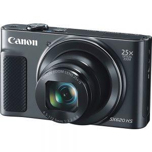 Canon PowerShot SX620 HS 20.2 Megapixel Compact Camera - Black - 3 LCD - 25x Optical Zoom - 4x Digital Zoom - Optical (IS) - 5184 x 3888 Image - 1920 x 1080 Video - HD Movie Mode - Wireless LAN