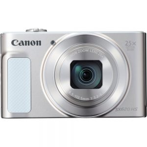 Canon PowerShot SX620 HS 20.2 Megapixel Compact Camera - Silver - 3 LCD - 25x Optical Zoom - 4x Digital Zoom - Optical (IS) - 5184 x 3888 Image - 1920 x 1080 Video - HD Movie Mode - Wireless LAN