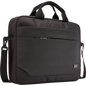 Case Logic Advantage ADVA-114 BLACK Carrying Case (Attach and eacute;) for 10 to 14.1 Notebook - Black - Polyester - Shoulder Strap
