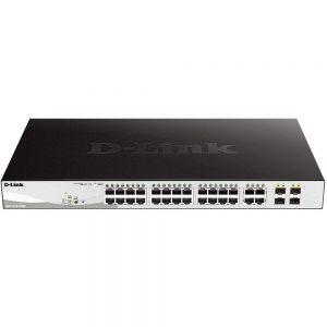 D-Link DGS-1210-28MP 28-Ports GigaBit Smart Managed PoE Switch