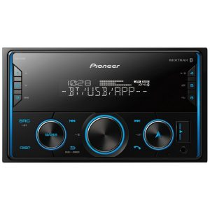Pioneer MVH-S420BT Double-DIN In-Dash Digital Media Receiver with Bluetooth