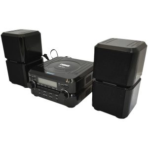 Naxa NS-441 Bluetooth CD Microsystem