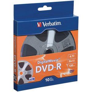 Verbatim 97946 4.7GB 120-Minute DigitalMovie DVD-Rs