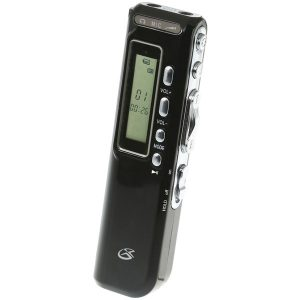 GPX PR047B 4GB Digital Voice Recorder