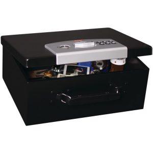 First Alert 3035DF .27 Cubic-ft Digital Locking Steel Security Box