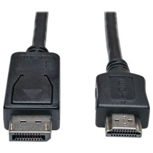 Tripp Lite P582-003 DisplayPort to HDMI Adapter Cable