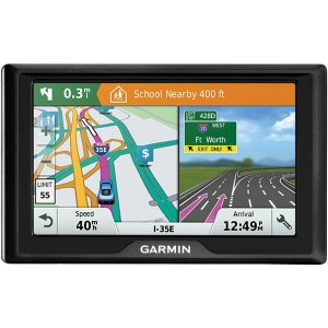 "Garmin 010-01678-0B Drive 51 LM 5"" GPS Navigator with Driver Alerts (US Lifetime Maps)"