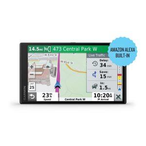 Garmin 010-02153-00 DriveSmart 65 6.95-Inch GPS Navigator with Amazon Alexa
