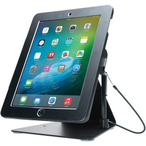 CTA Digital PAD-DASB Desktop Anti-Theft Stand for Tablets (Black)