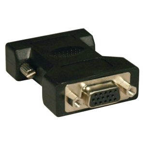 Tripp Lite P120-000 DVI to VGA Cable Adapter (DVI-I Analog Male to VGA HD15 Female)