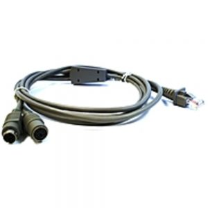Datalogic CAB-321 Keyboard Wedge Cable - mini-DIN (PS/2) - 6.5ft