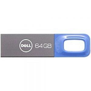 Dell 64GB USB 3.0 Flash Drive - Blue - 64 GB - USB 3.0 - Blue