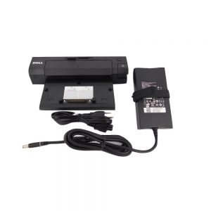Dell E-Port PR03X Port Docking Station With USB 3.0 and 240Watt Power Adapter 331-7950 For Select Dell Latitude Laptops
