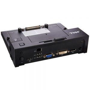 Dell E-Port PR03X Spr II 130-Ports Replicator With USB 3.0 and 130Watt Power Adapter 331-6307