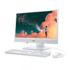 Dell Inspiron 3475 I3475-A107WHT All-In-One PC - 8 GB RAM - 256 GB Solid Drive - 23.8-Inch Screen - 3.1 GHz - Windows 10 Home - White