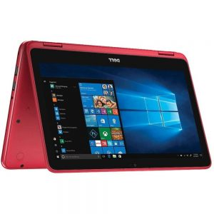 Dell Inspiron I3185 I3185-A626RED-PUS 11.6-Inch 2 in 1 Touch Laptop - 4 GB RAM - 64 GB EMMC Storage - AMD A6-9220e - 1.6 GHz - Windows 10 Home - Red