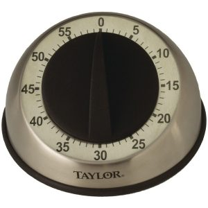 Taylor Precision Products 5830 Easy-Grip Mechanical Timer