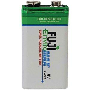 FUJI ENVIROMAX 4600BP1 EnviroMax 9-Volt Super Alkaline Battery