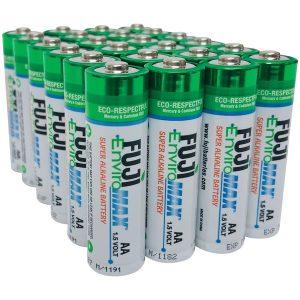 FUJI ENVIROMAX 4300BP24 EnviroMax AA Super Alkaline Batteries (24 pack)