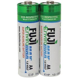 FUJI ENVIROMAX 4300BP2 EnviroMax AA Super Alkaline Batteries (2 pack)