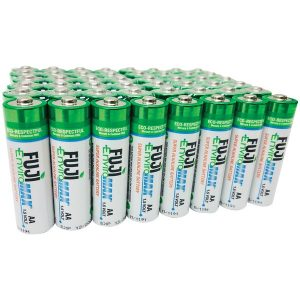 FUJI ENVIROMAX 4300SP48 EnviroMax AA Super Alkaline Batteries (48 pack)