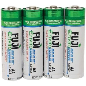 FUJI ENVIROMAX 4300BP4 EnviroMax AA Super Alkaline Batteries (4 pack)