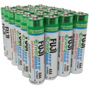 FUJI ENVIROMAX 4400BP24 EnviroMax AAA Super Alkaline Batteries (24 Pack)