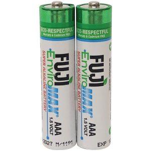 FUJI ENVIROMAX 4400BP2 EnviroMax AAA Super Alkaline Batteries (2 Pack)