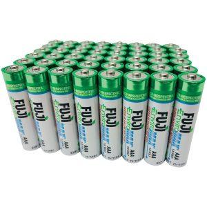 FUJI ENVIROMAX 4400SP48 EnviroMax AAA Super Alkaline Batteries (48 Pack)
