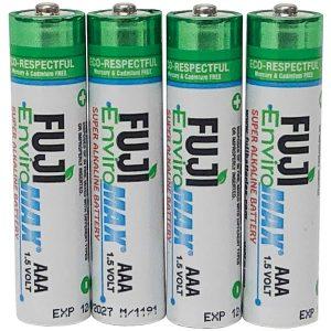 FUJI ENVIROMAX 4400BP4 EnviroMax AAA Super Alkaline Batteries (4 Pack)