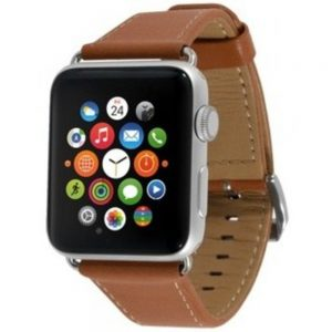 End-Scene 5031300092209 1.5-inch Band for Apple Watch - Leather Camel