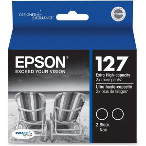 Epson DURABrite T127120-D2 Original Ink Cartridge - Inkjet - Black