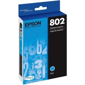 Epson DURABrite Ultra 802 Ink Cartridge - Cyan - Inkjet