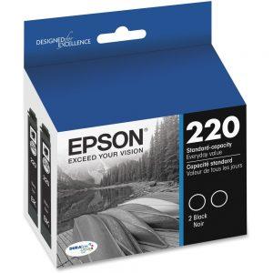 Epson DURABrite Ultra Ink T220 Original Ink Cartridge - Inkjet - Standard Yield - Black - 1 Each