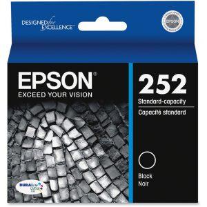Epson DURABrite Ultra T252120 Original Ink Cartridge - Inkjet - Black - 1 Each