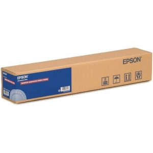 Epson S041393 24 X 100' Premium Semigloss Photo InkJet Paper Roll