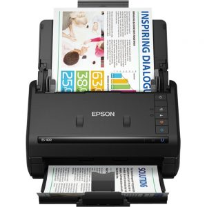Epson WorkForce ES-400 Sheetfed Scanner - 300 dpi Optical - 30-bit Color - 16-bit Grayscale - 35 ppm (Mono) - 35 ppm (Color) - Duplex Scanning - USB