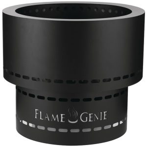 FLAME GENIE FG-19 Flame Genie INFERNO Wood Pellet Fire Pit (Black)
