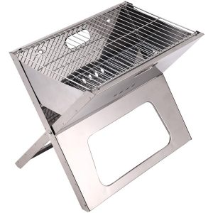"Brentwood Appliances BB-1811F 18"" Portable Folding Charcoal BBQ Grill"