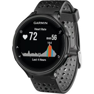 Garmin 010-03717-54 Forerunner 235 GPS Running Watch (Black/Gray)