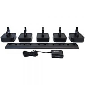 GN Netcom Pro 9400 Series 14207-15 5 Unit Headset Charger Stand for Jabra PRO 9460