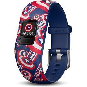 Garmin Vivofit Jr.2 010-01909-32 Activity Tracker for Kids - Bluetooth - Captain America