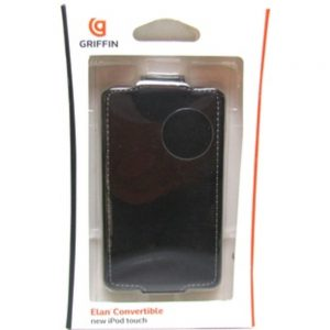 Griffin Elan Convertible GB01934 Carrying Case (Flip) iPod - Black - Clip