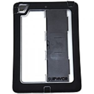 Griffin Technology XB39502 Survivor Slim Carrying Case for iPad Air - Black Clear