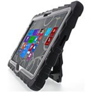 Gumdrop Hideaway Case for Dell Venue 11 Pro Atom - Tablet - Black - Rubber