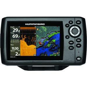 Humminbird 410220-1NAV HELIX 5 CHIRP DI GPS G2 Fishfinder with Navionics