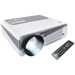 Pyle Home PRJAND615 HD 1080p Smart Projector with Built-in Dual-Core Android CPU