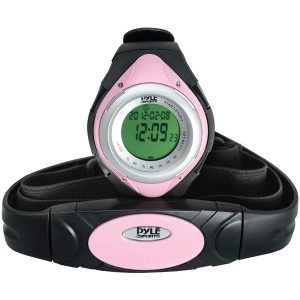 Pyle Pro PHRM38PN Heart Rate Monitor Watch with Minimum