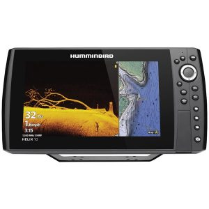 Humminbird 410880-1 HELIX 10 CHIRP MEGA DI+ GPS G3N Fishfinder with Bluetooth & Ethernet