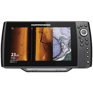 Humminbird 410890-1 HELIX 10 CHIRP MEGA SI+ GPS G3N Fishfinder with Bluetooth & Ethernet